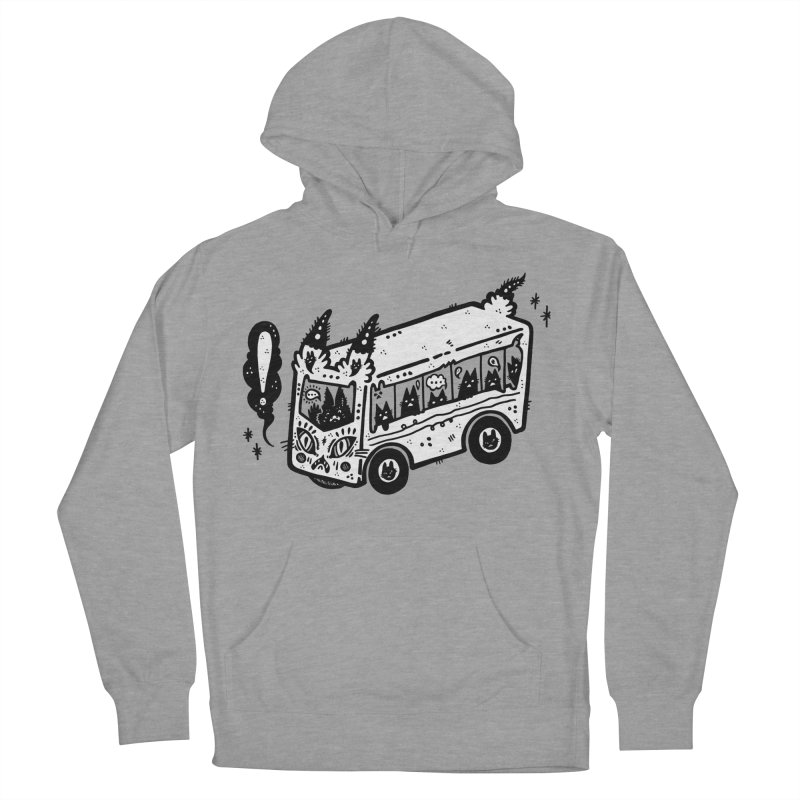 Silly bus (syllabus?), white background, no text Men's Pullover Hoody by Haypeep's Artist Shop