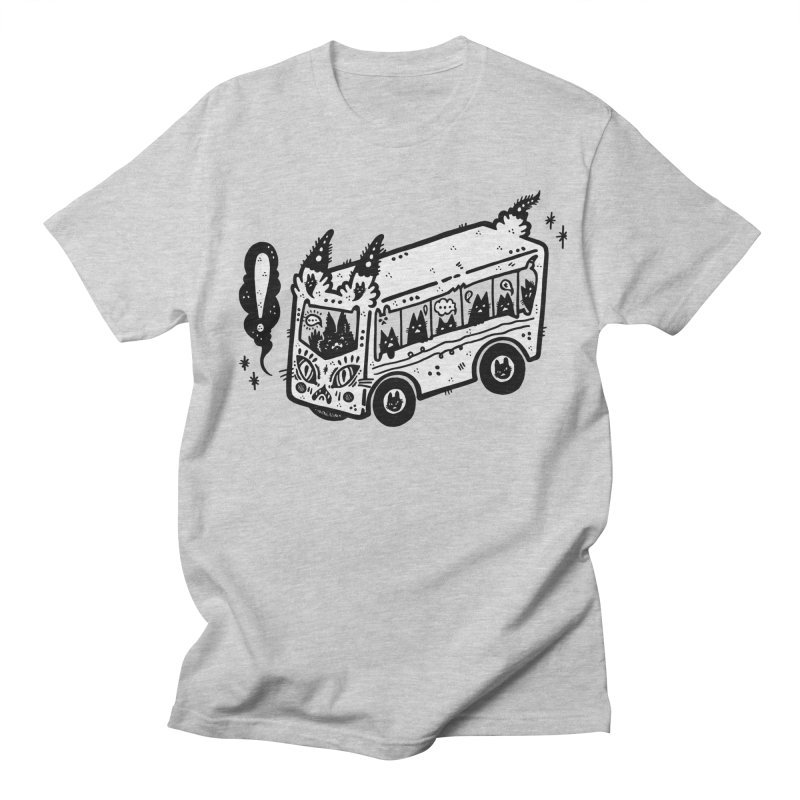 Silly bus (syllabus?), white background, no text Men's T-Shirt by Haypeep's Artist Shop