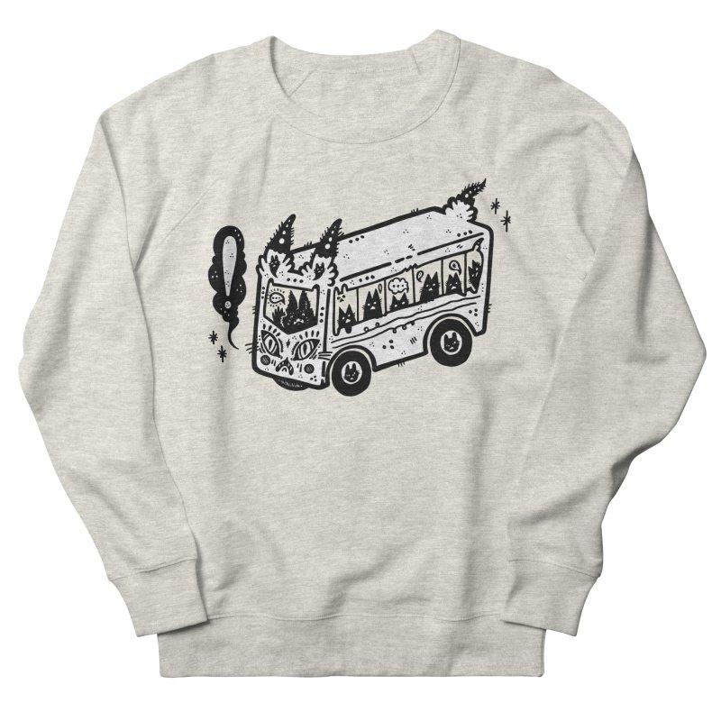 Silly bus (syllabus?), white background, no text Men's Sweatshirt by Haypeep's Artist Shop