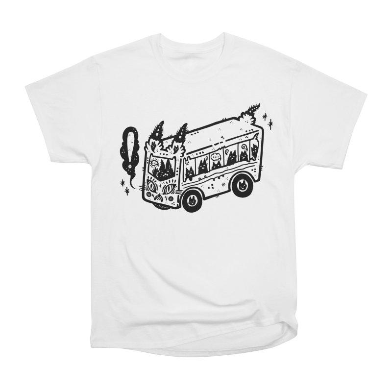 Silly bus (syllabus?), white background, no text Men's T-Shirt by Haypeep's Artist Shop
