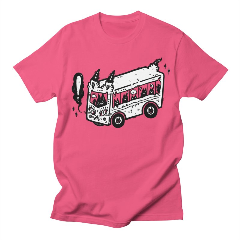 Silly bus (syllabus?), white background, no text Men's Regular T-Shirt by Haypeep's Artist Shop