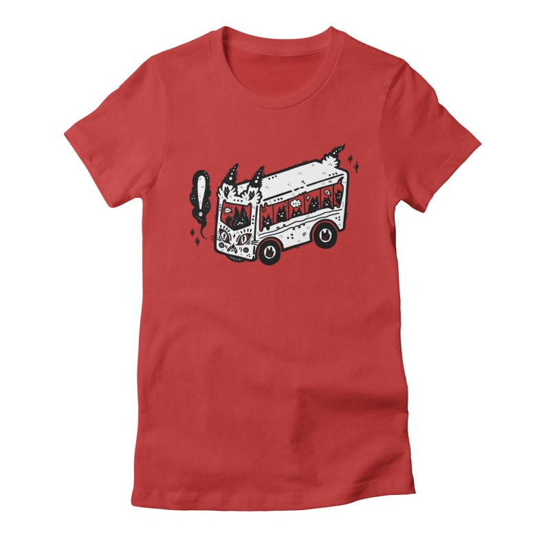 Silly bus (syllabus?), white background, no text Women's T-Shirt by Haypeep's Artist Shop