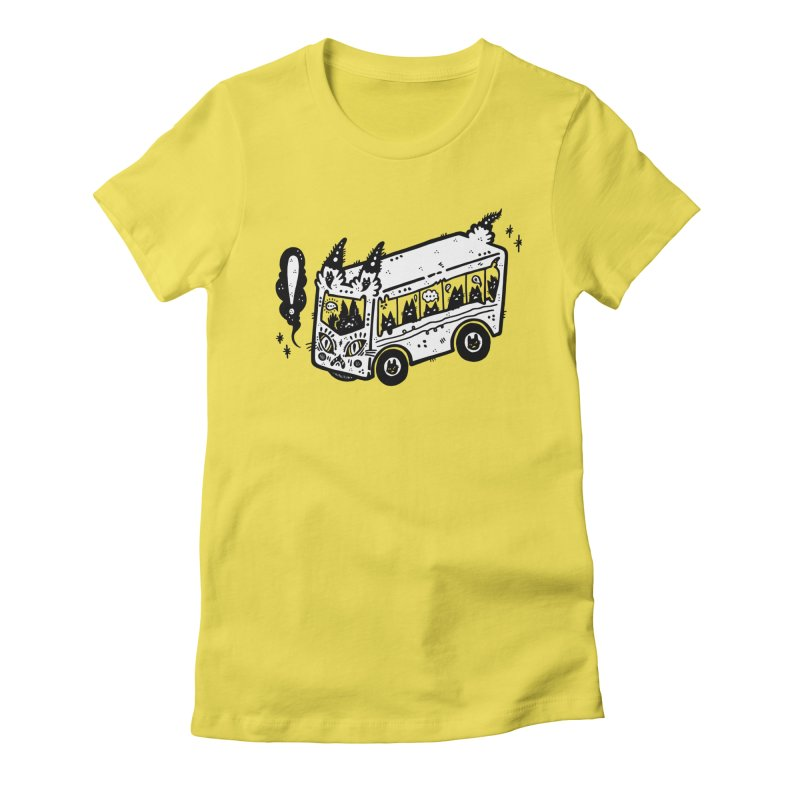 Silly bus (syllabus?), white background, no text Women's T-Shirt by Haypeep's Artist Shop