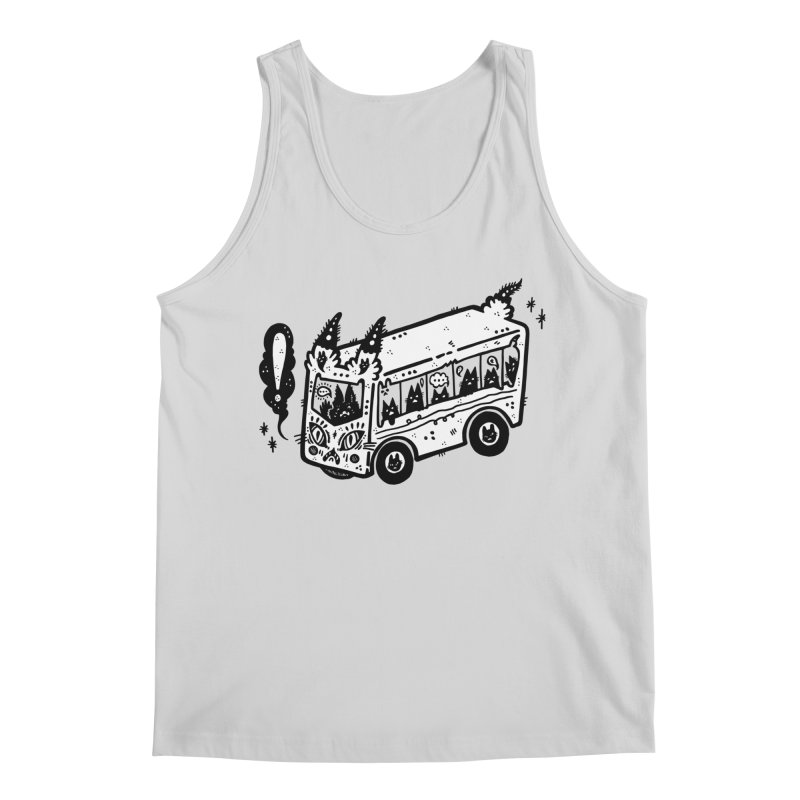 Silly bus (syllabus?), white background, no text Men's Tank by Haypeep's Artist Shop