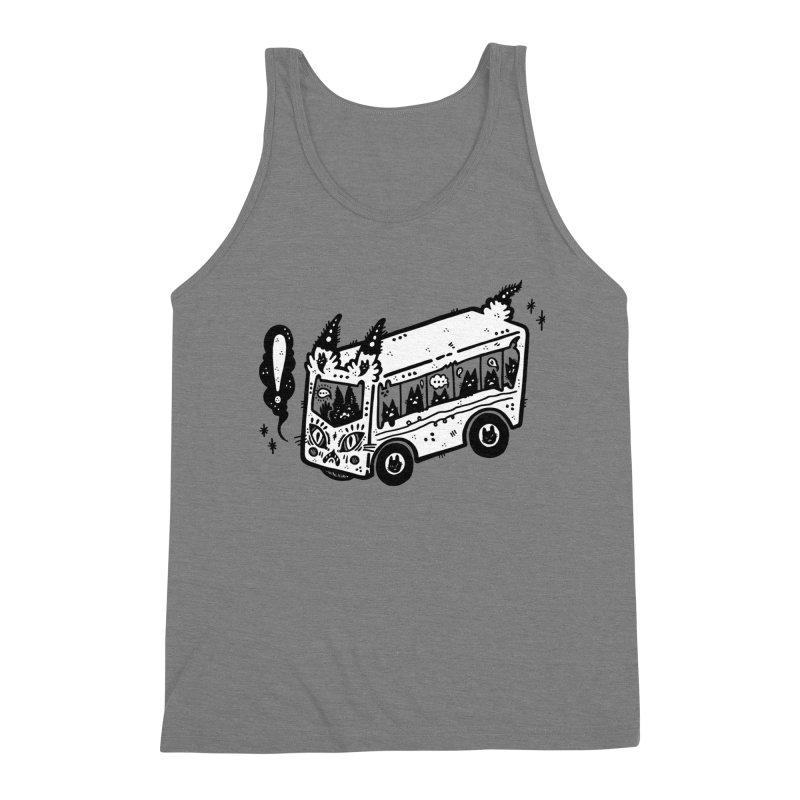 Silly bus (syllabus?), white background, no text Men's Tank by Haypeep's Artist Shop