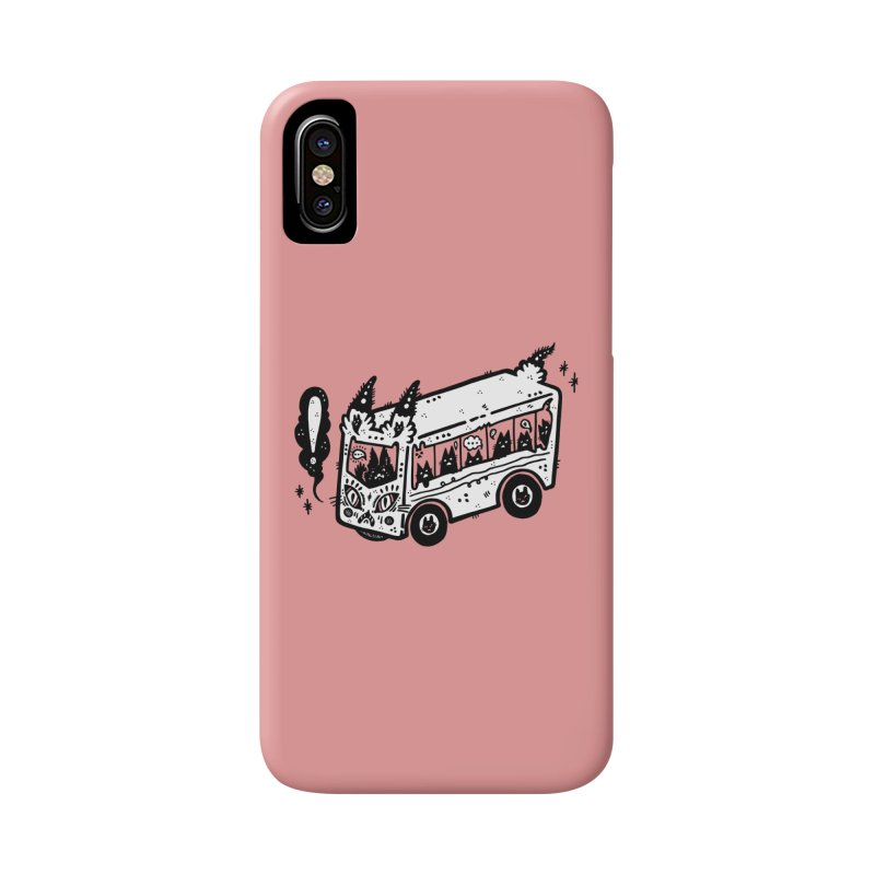 Silly bus (syllabus?), white background, no text Accessories Phone Case by Haypeep's Artist Shop
