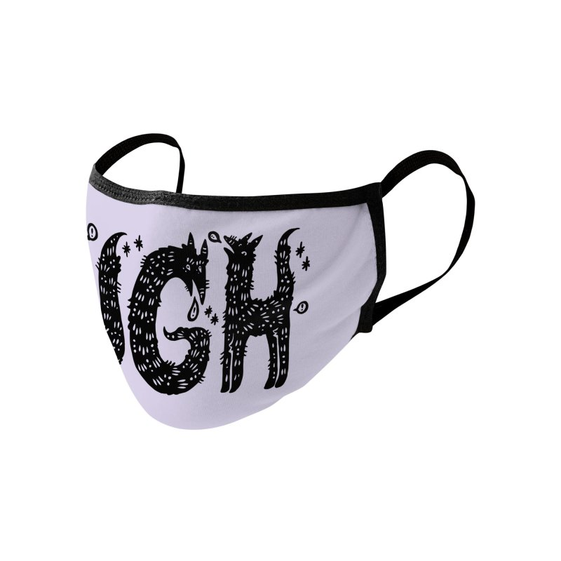 UGH Accessories Face Mask by Haypeep's Artist Shop