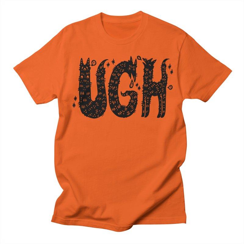 UGH Men's Regular T-Shirt by Haypeep's Artist Shop