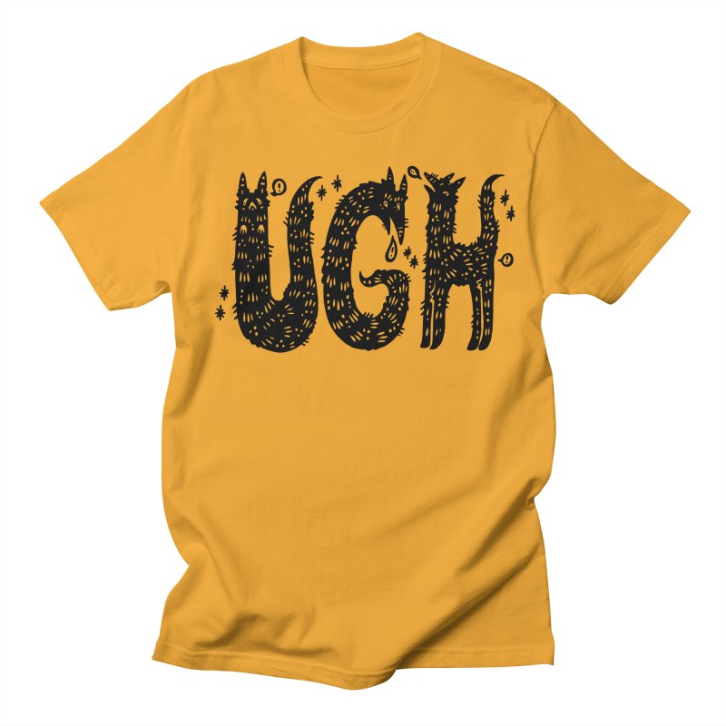UGH Men's Regular T-Shirt by Haypeep's Artist Shop