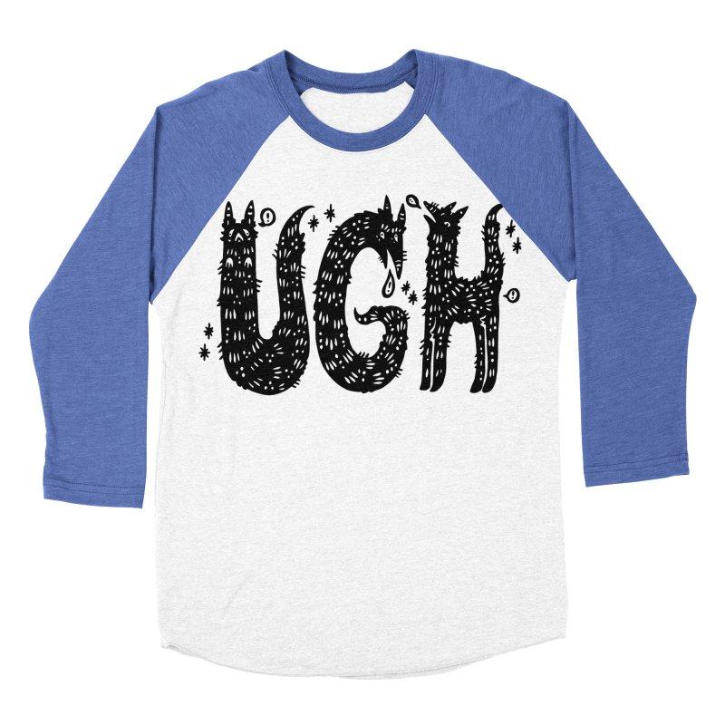 UGH Women's Baseball Triblend Longsleeve T-Shirt by Haypeep's Artist Shop