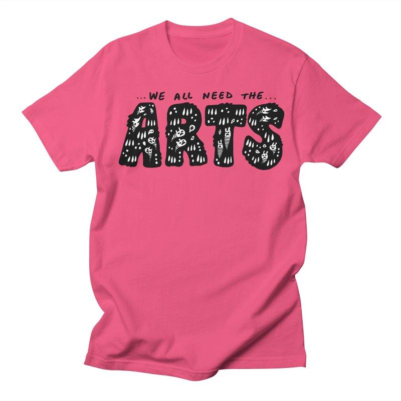 We all need the ARTS Men's Regular T-Shirt by Haypeep's Artist Shop