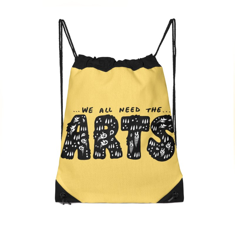 We all need the ARTS Accessories Bag by Haypeep's Artist Shop