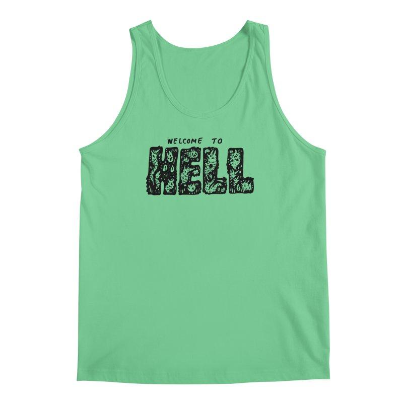 Welcome To Hell Men's Regular Tank by Haypeep's Artist Shop