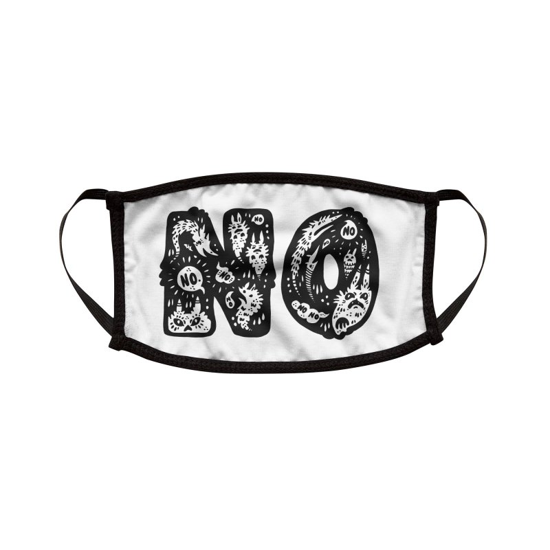 NO Accessories Face Mask by Haypeep's Artist Shop
