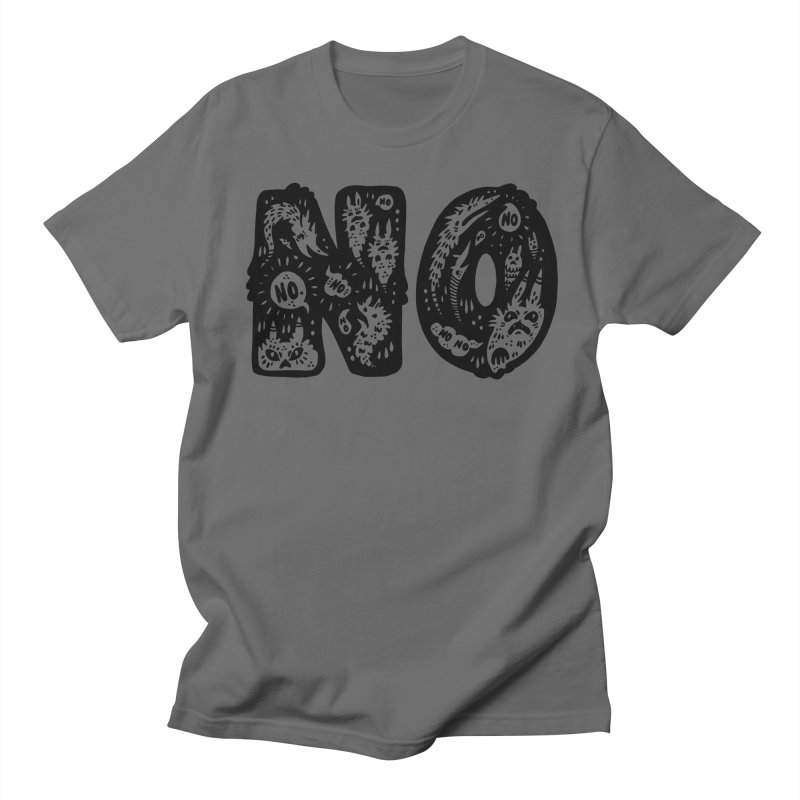 NO Men's T-Shirt by Haypeep's Artist Shop
