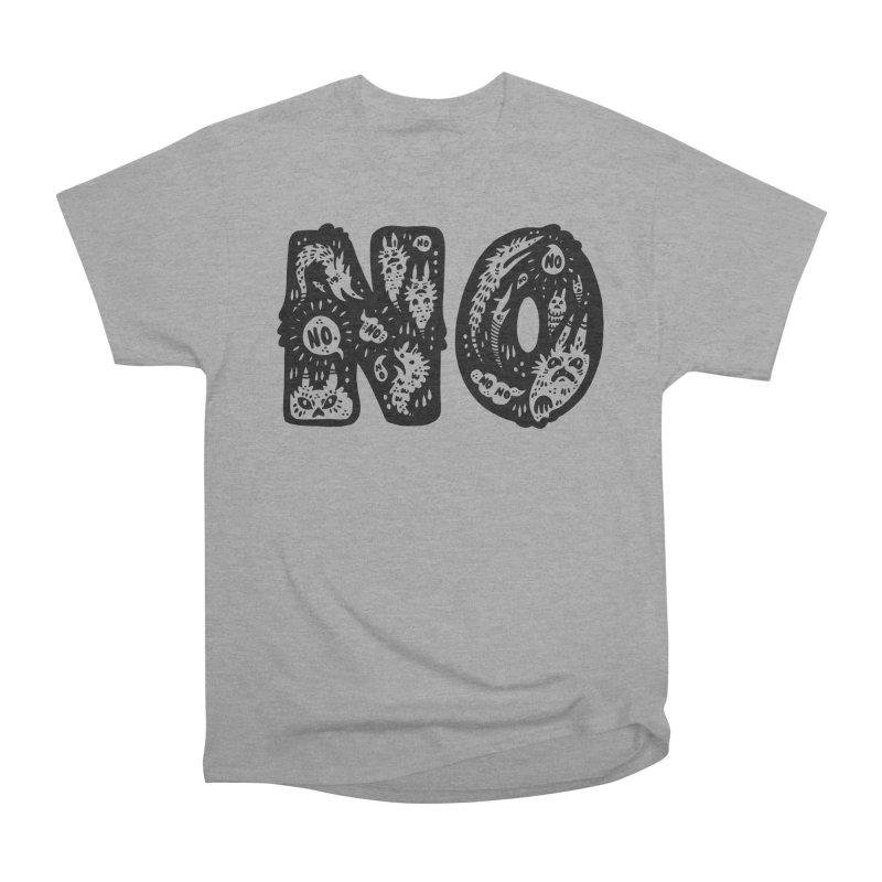 NO Men's Classic T-Shirt by Haypeep's Artist Shop