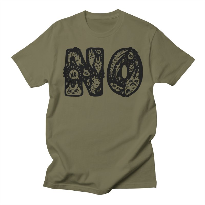 NO Men's Regular T-Shirt by Haypeep's Artist Shop