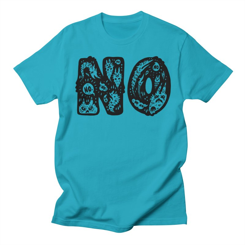 NO Women's Regular Unisex T-Shirt by Haypeep's Artist Shop