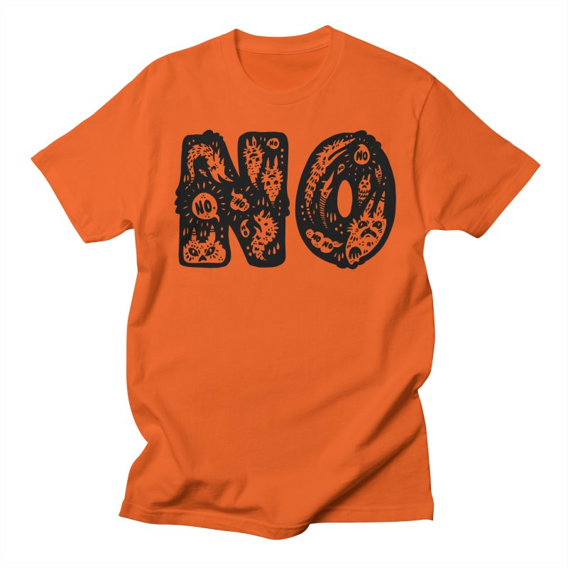 NO Men's T-Shirt by Haypeep's Artist Shop