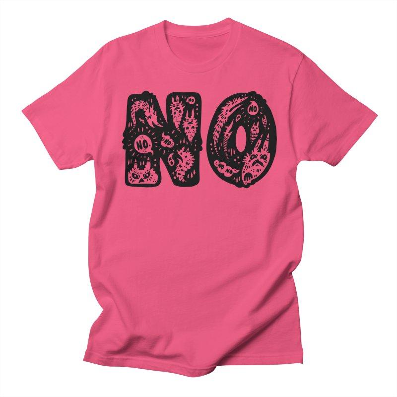 NO Men's Regular T-Shirt by Haypeep's Artist Shop