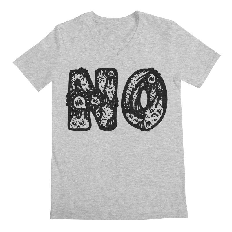 NO Men's Regular V-Neck by Haypeep's Artist Shop
