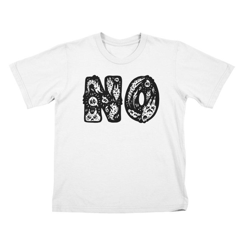 NO Kids T-Shirt by Haypeep's Artist Shop