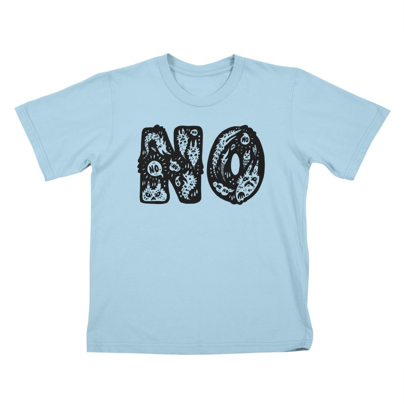 NO Kids T-Shirt by Haypeep's Artist Shop