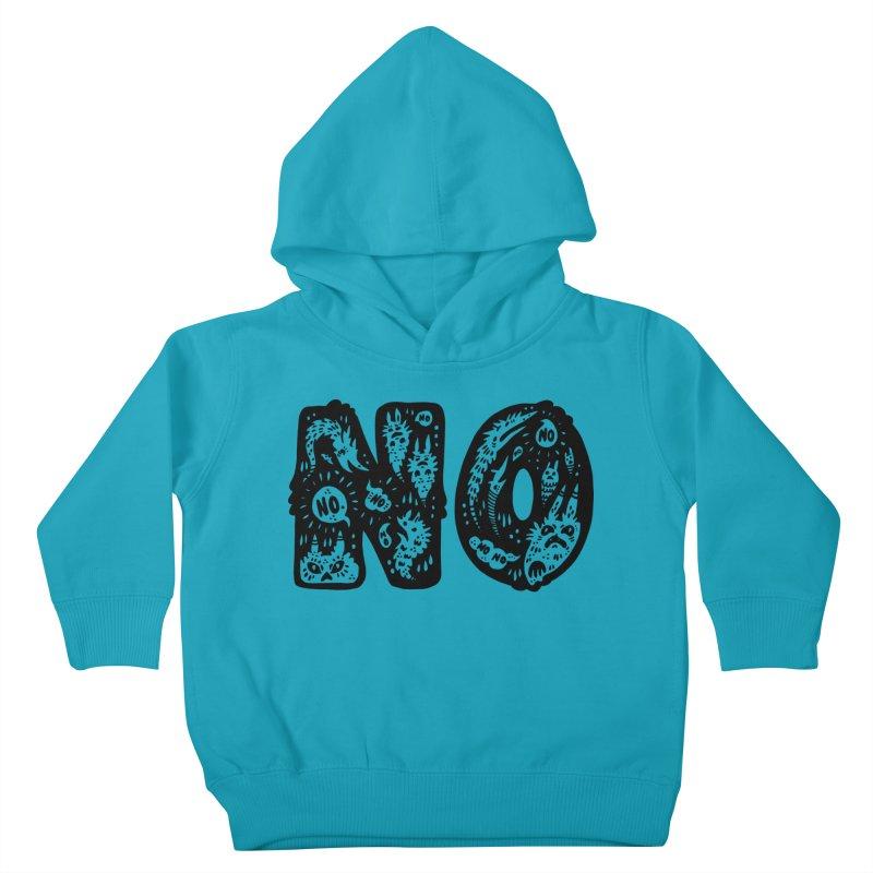 NO Kids Toddler Pullover Hoody by Haypeep's Artist Shop