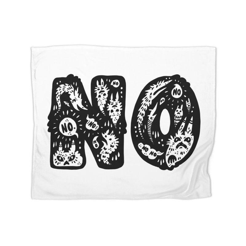 NO Home Fleece Blanket Blanket by Haypeep's Artist Shop