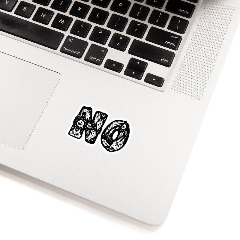 NO Accessories Sticker by Haypeep's Artist Shop