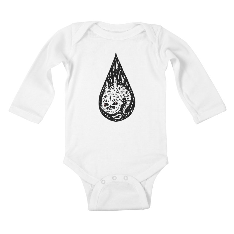 Goblin Droplet Kids Baby Longsleeve Bodysuit by Haypeep's Artist Shop