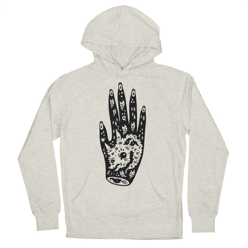 Right Hand Men's French Terry Pullover Hoody by Haypeep's Artist Shop