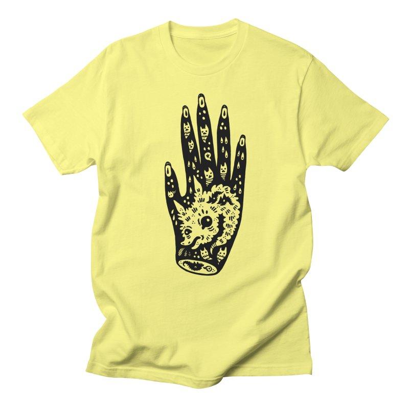 Right Hand Men's Regular T-Shirt by Haypeep's Artist Shop