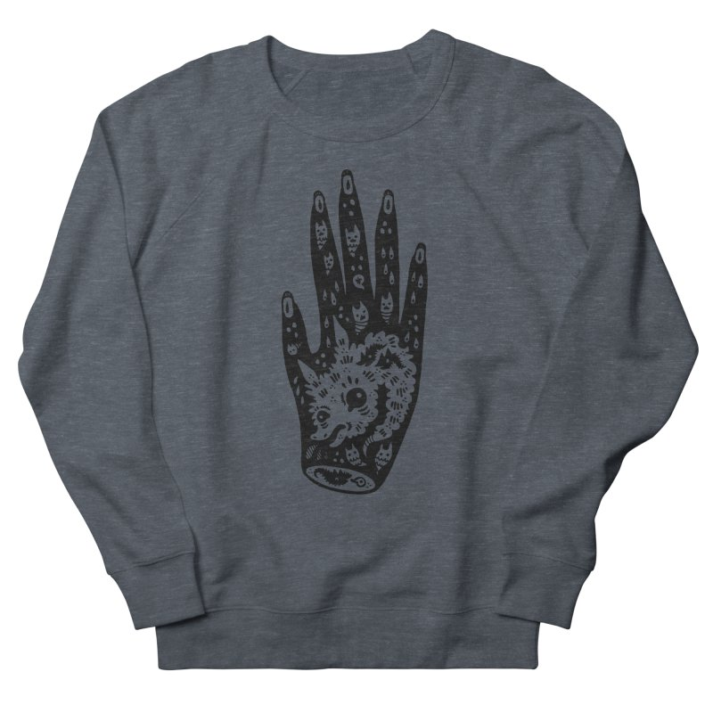 Right Hand Women's French Terry Sweatshirt by Haypeep's Artist Shop