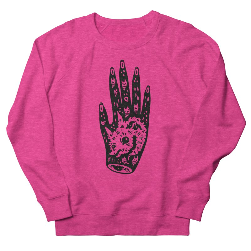Right Hand Women's Sweatshirt by Haypeep's Artist Shop