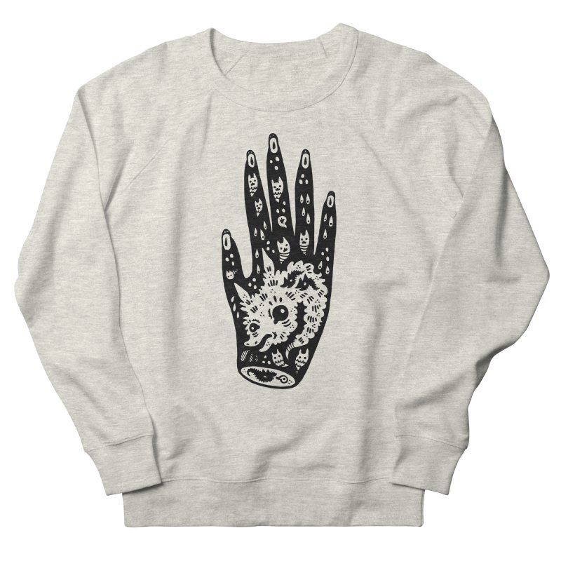 Right Hand Women's French Terry Sweatshirt by Haypeep's Artist Shop