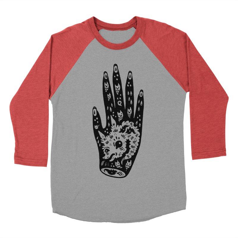Right Hand Women's Baseball Triblend Longsleeve T-Shirt by Haypeep's Artist Shop