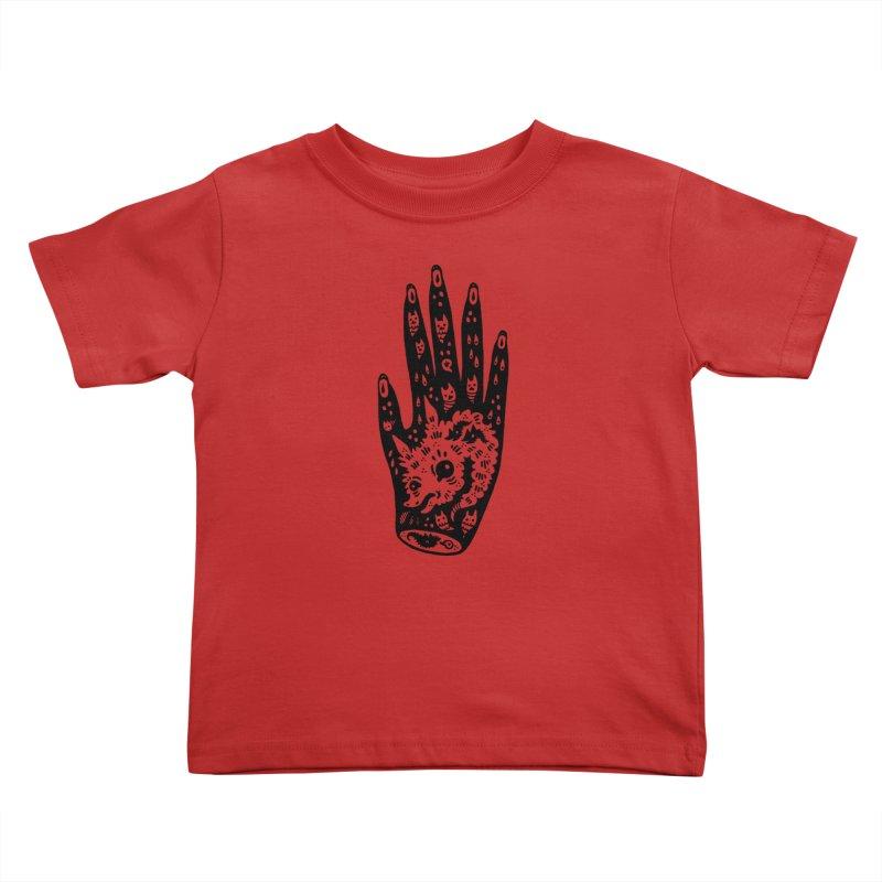 Right Hand Kids Toddler T-Shirt by Haypeep's Artist Shop