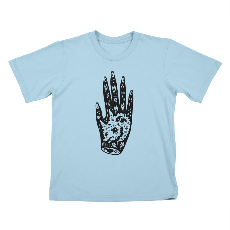 Right Hand Kids T-Shirt by Haypeep's Artist Shop