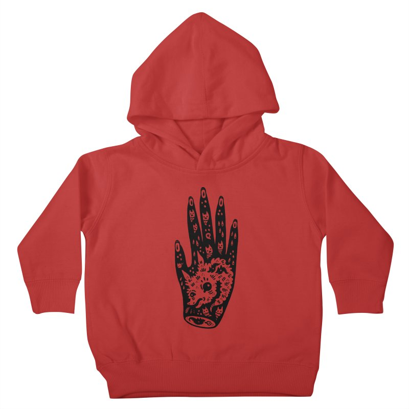 Right Hand Kids Toddler Pullover Hoody by Haypeep's Artist Shop