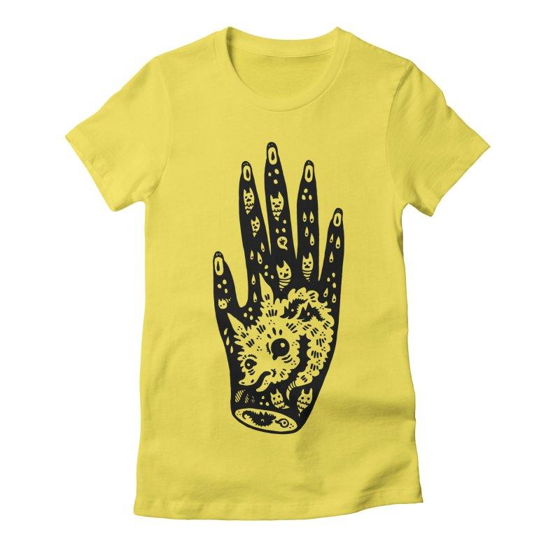 Right Hand Women's T-Shirt by Haypeep's Artist Shop
