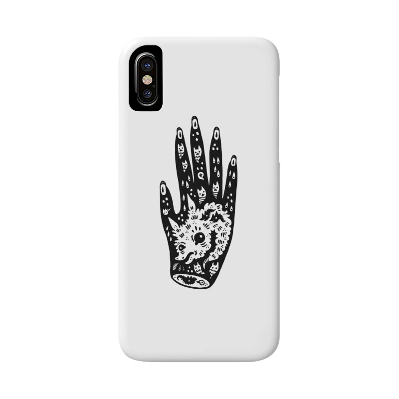 Right Hand Accessories Phone Case by Haypeep's Artist Shop