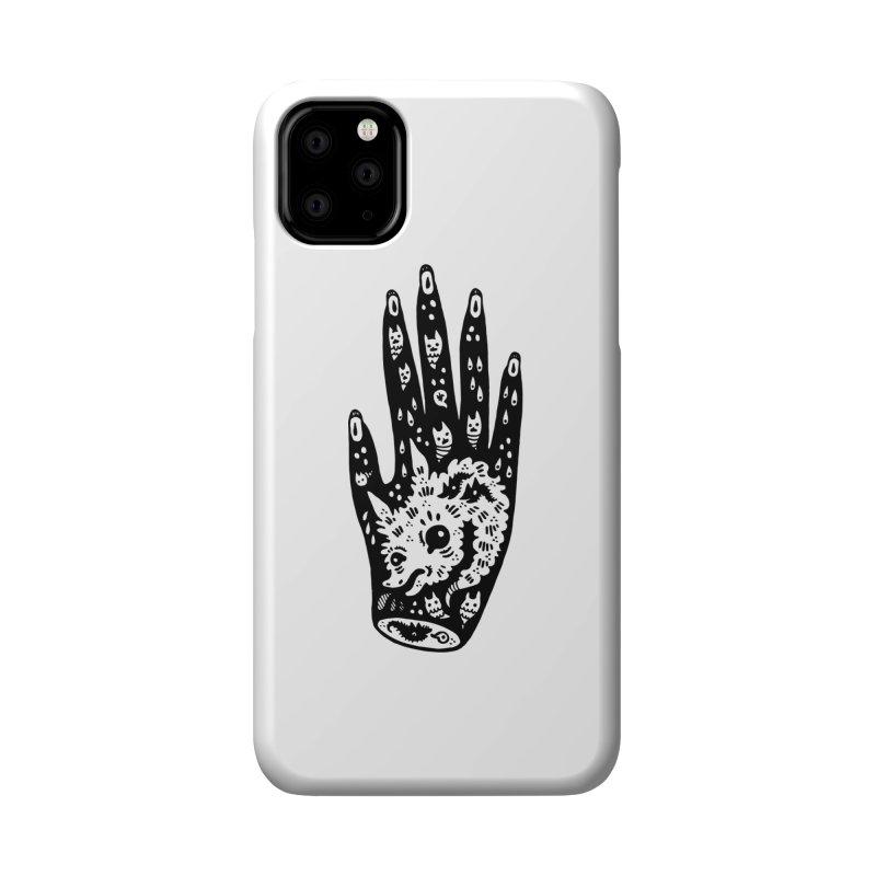 Right Hand Accessories Phone Case by Haypeep's Artist Shop