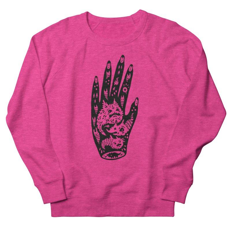Left Hand Men's Sweatshirt by Haypeep's Artist Shop