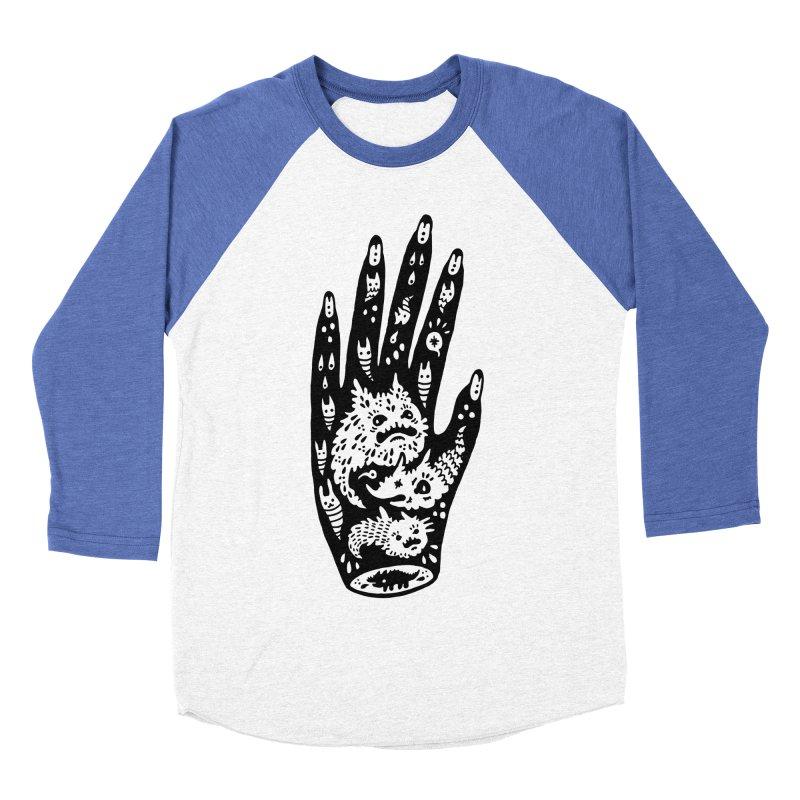 Left Hand Women's Baseball Triblend Longsleeve T-Shirt by Haypeep's Artist Shop