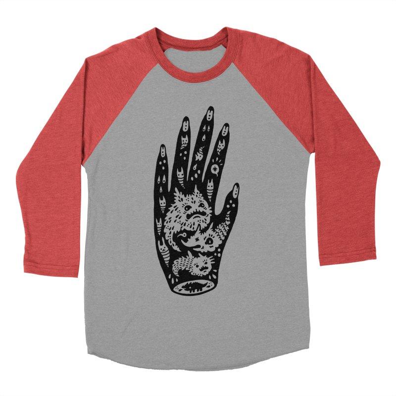 Left Hand Women's Baseball Triblend T-Shirt by Haypeep's Artist Shop