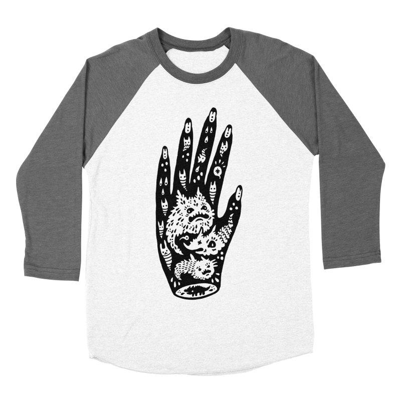 Left Hand Men's Baseball Triblend T-Shirt by Haypeep's Artist Shop