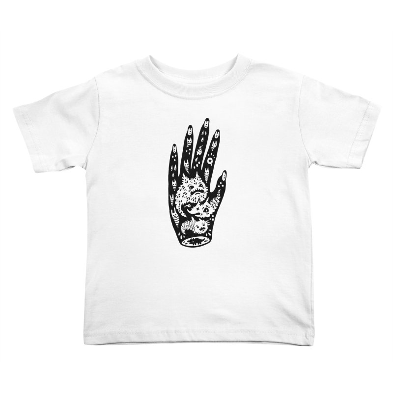 Left Hand Kids Toddler T-Shirt by Haypeep's Artist Shop
