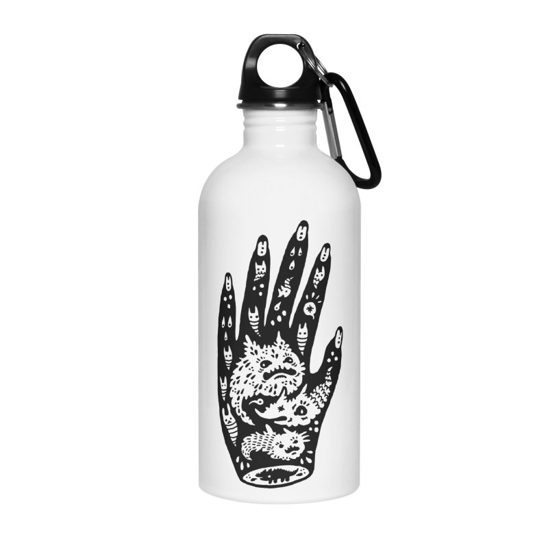 Left Hand Accessories Water Bottle by Haypeep's Artist Shop