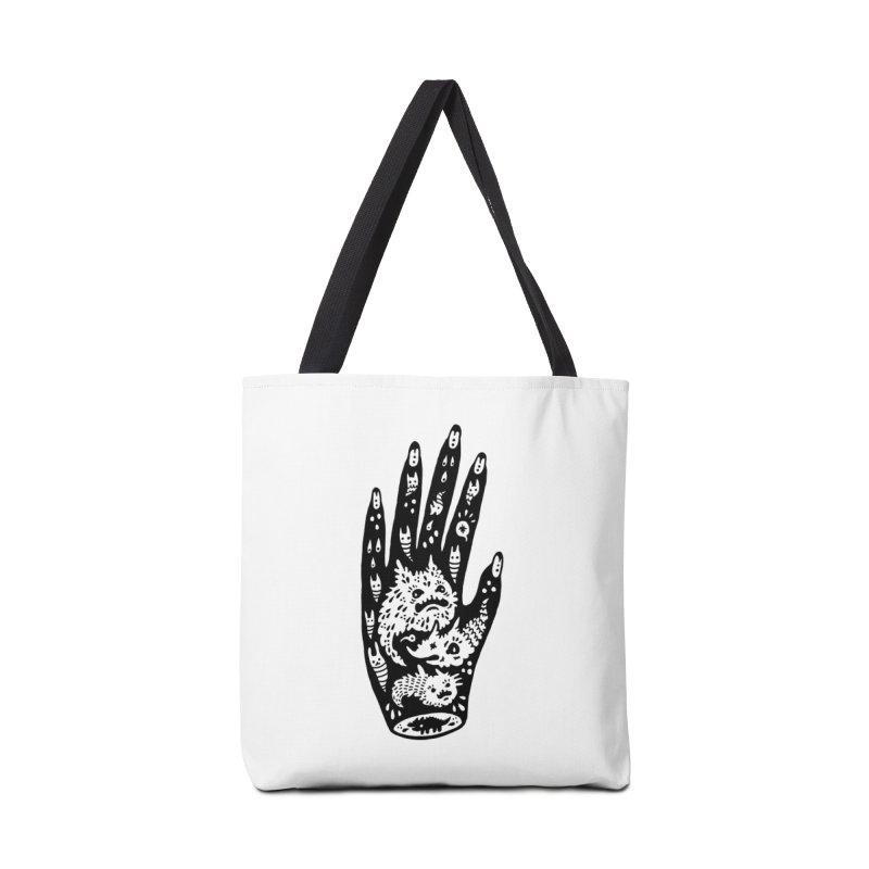 Left Hand Accessories Tote Bag Bag by Haypeep's Artist Shop